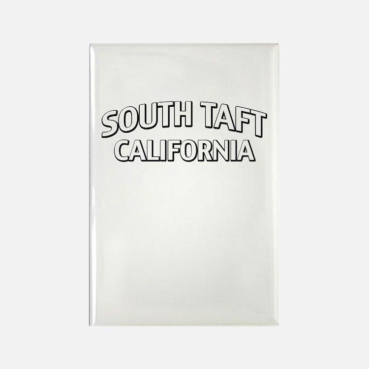 South Taft California Rectangle Magnet
