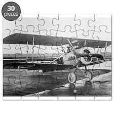 Weimaraner Sopwith Camel Puzzle