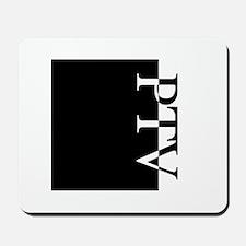 PTV Typography Mousepad