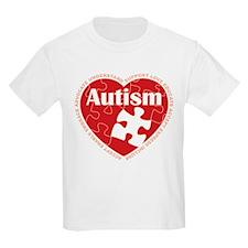 Autism-Heart-2-BLACK T-Shirt