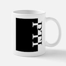 PTI Typography Mug