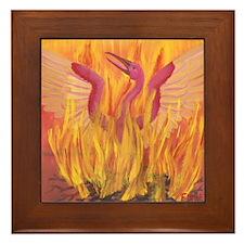 """""""Fall in Fire"""" Phoenix Framed Tile"""