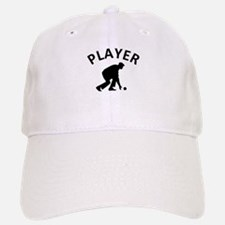 Lawn Bowling Player Baseball Baseball Cap