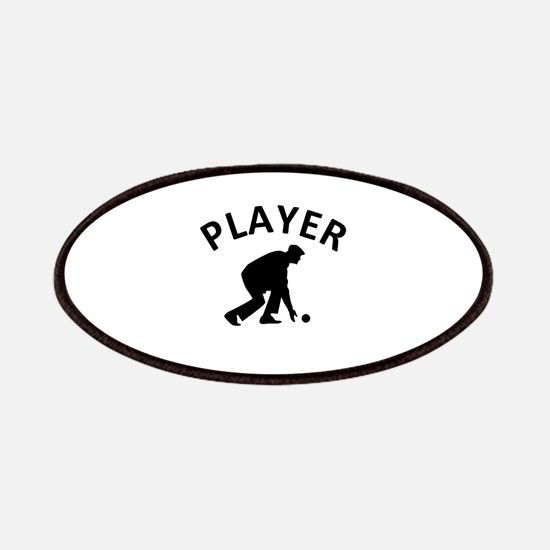 Lawn Bowling Player Patches