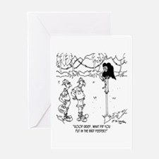 What's in The Bird Feeder? Greeting Card