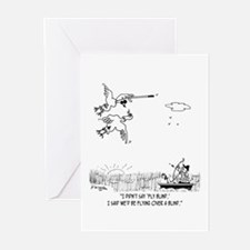 Duck Flying Blind Greeting Cards (Pk of 20)