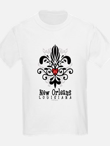 NOLAFleurHeartW T-Shirt