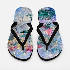 Monet - More Nympheas Flip Flops