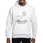 A Bird Carries A Lot Of Weight Hooded Sweatshirt