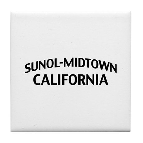 Sunol-Midtown California Tile Coaster