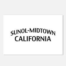 Sunol-Midtown California Postcards (Package of 8)