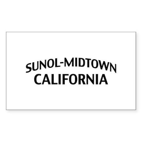 Sunol-Midtown California Sticker (Rectangle)