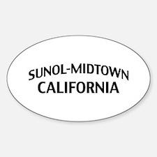 Sunol-Midtown California Decal