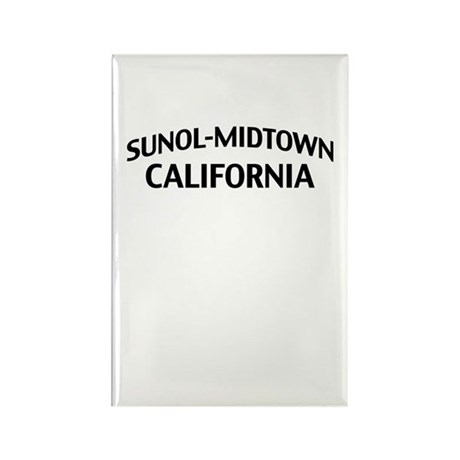 Sunol-Midtown California Rectangle Magnet