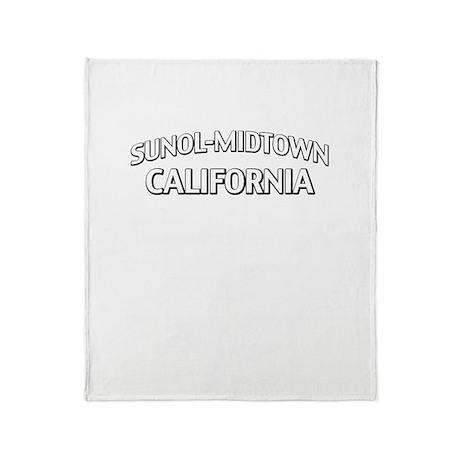 Sunol-Midtown California Throw Blanket