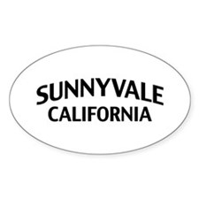 Sunnyvale California Decal