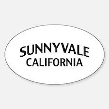 Sunnyvale California Decal