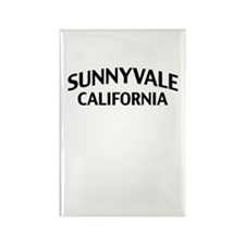 Sunnyvale California Rectangle Magnet