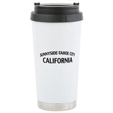 Sunnyside-Tahoe City California Travel Mug