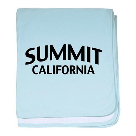 Summit California baby blanket