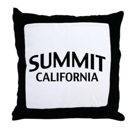 Summit California Throw Pillow
