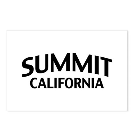 Summit California Postcards (Package of 8)
