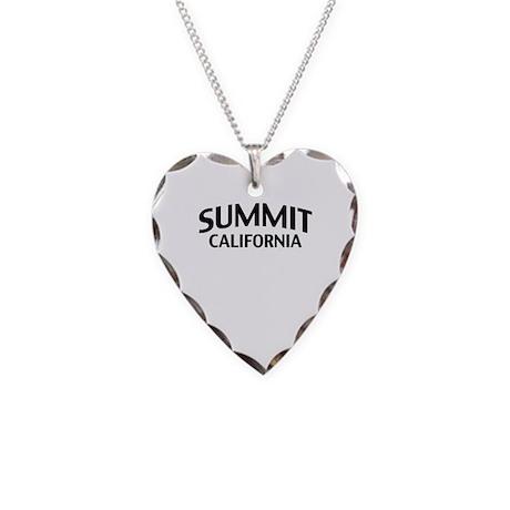 Summit California Necklace Heart Charm