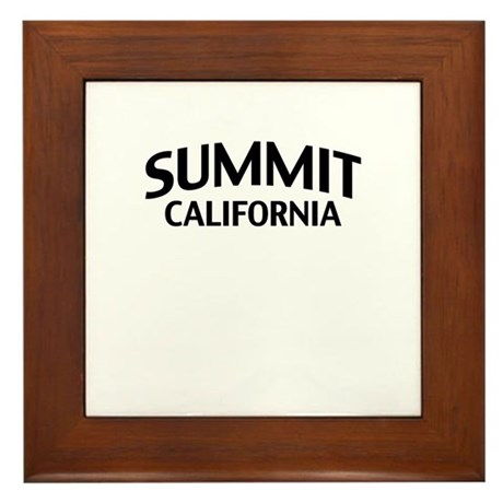 Summit California Framed Tile