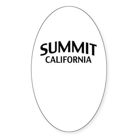 Summit California Sticker (Oval)