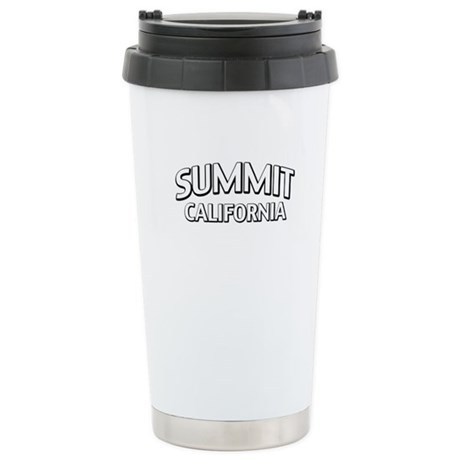 Summit California Stainless Steel Travel Mug
