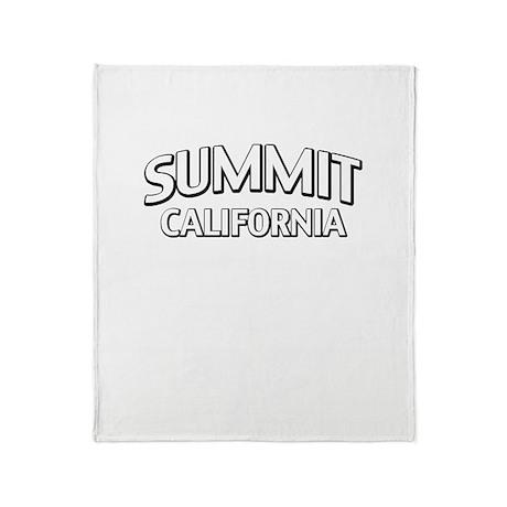 Summit California Throw Blanket