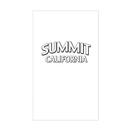 Summit California Sticker (Rectangle)