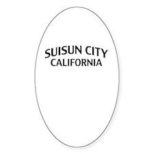 Suisun City California Decal