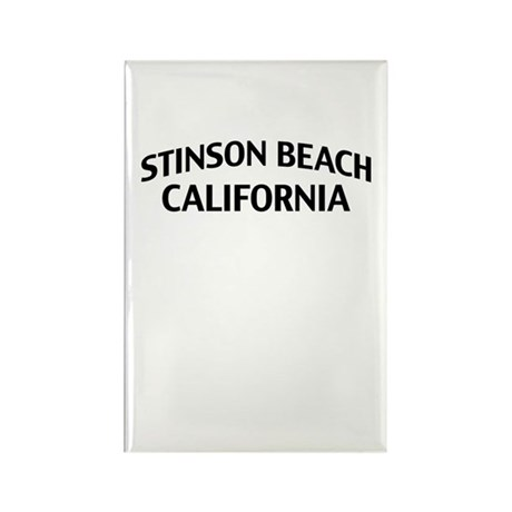 Stinson Beach California Rectangle Magnet