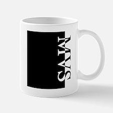 MVS Typography Mug