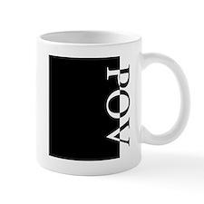 POV Typography Mug