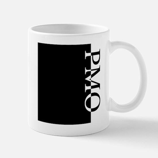 PMO Typography Mug