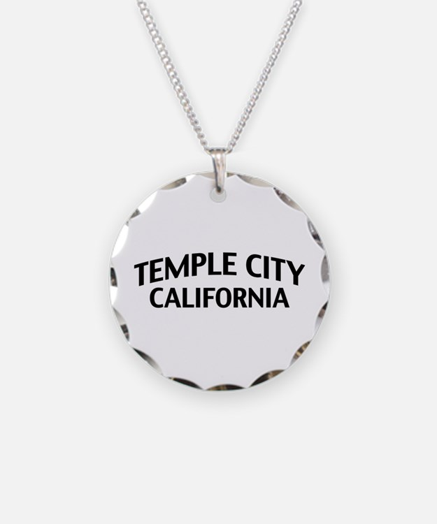 Temple City California Necklace