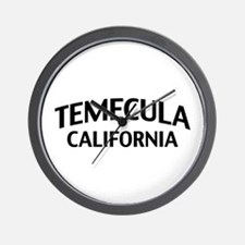 Temecula California Wall Clock