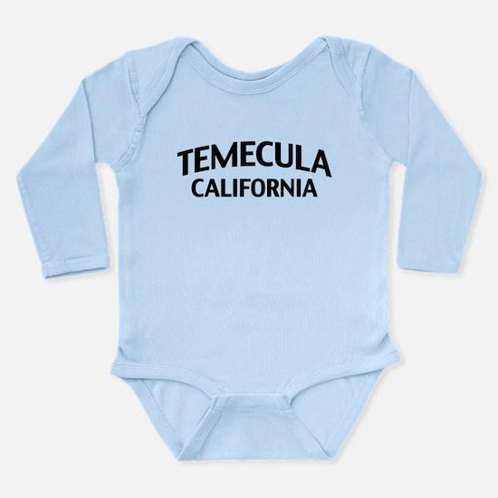 Temecula California Long Sleeve Infant Bodysuit