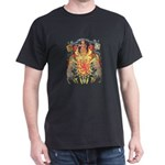 Scotland Coat of Arms Black T-Shirt