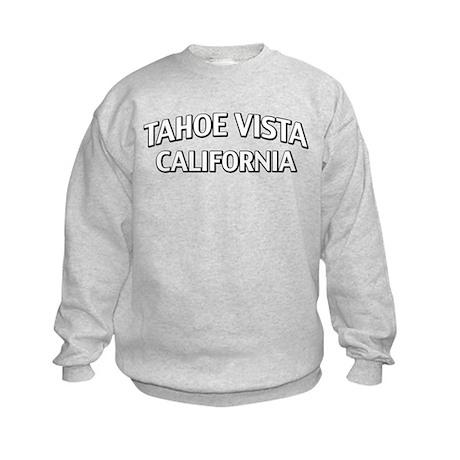 Tahoe Vista California Kids Sweatshirt