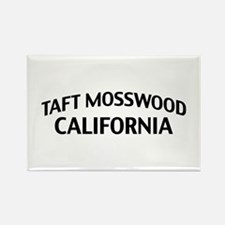 Taft Mosswood California Rectangle Magnet