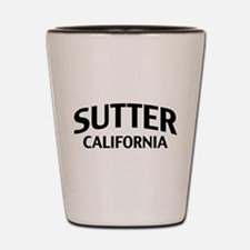 Sutter California Shot Glass