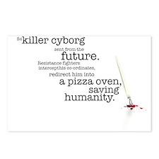 Killer cyborg... Postcards (Package of 8)
