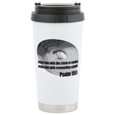 Psalm 150:5 - Christian Drumm Travel Mug