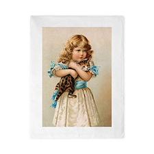 """Victorian Girl"" Twin Duvet"