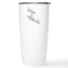 Conspiracy Stainless Steel Travel Mug