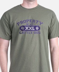 Cattle Dog PROPERTY T-Shirt