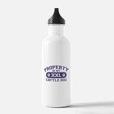 Cattle Dog PROPERTY Water Bottle